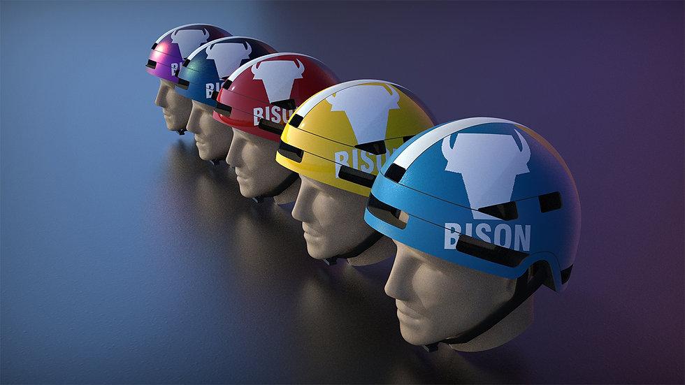 1.bison in line.jpg