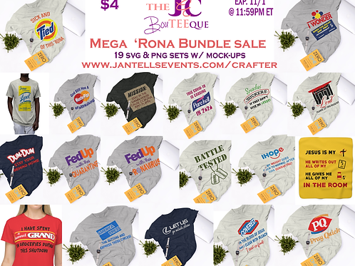 Mega 'Rona Bundle Digital Files