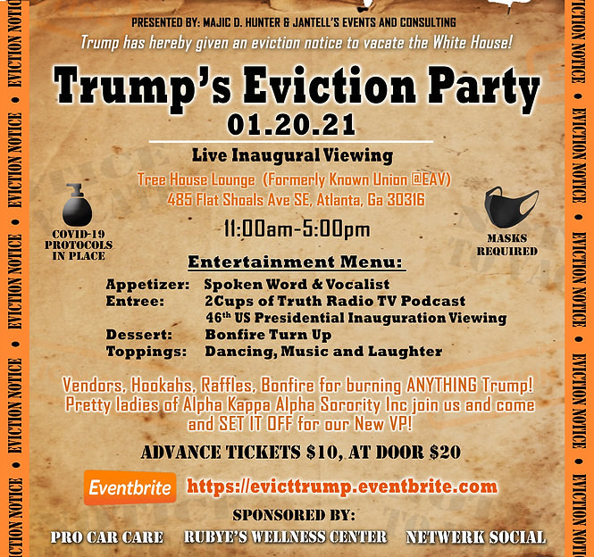 Trump's Eviction Party