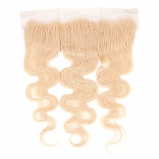 Blonde Brazilian Body Wave Lace Frontal Closure