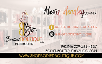 Business Cards (design only)