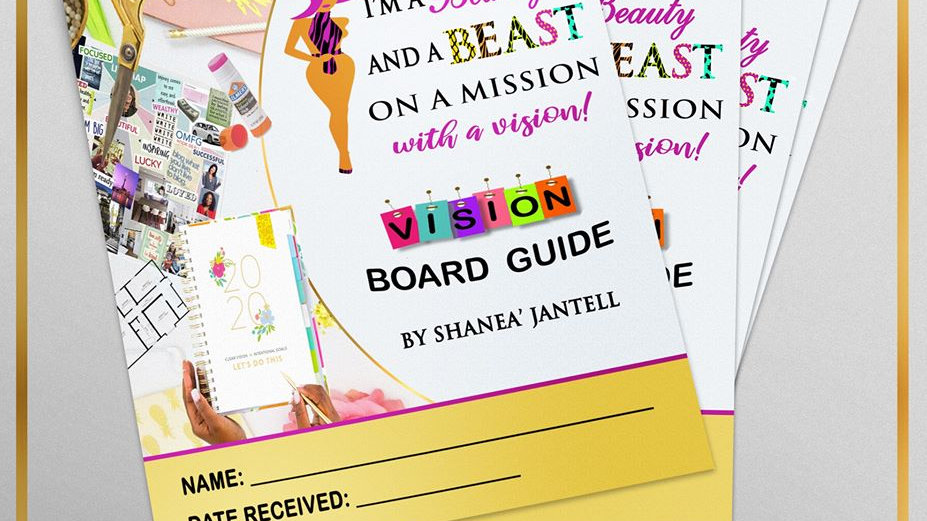 Vision Board Creation Guide
