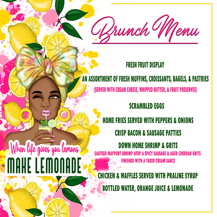 Lemonade Brunch Jantell's Events