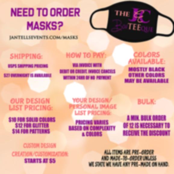 Custom Mask Ordering
