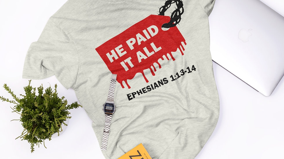 He Paid It All SVG & PNG Digital Download