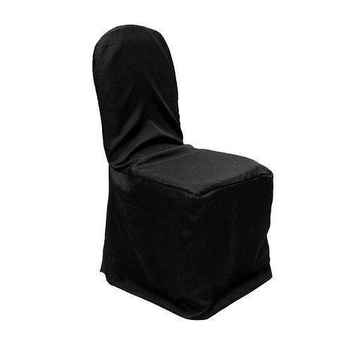 Banquet Polyester Chair Cover Rental (Choose Color)