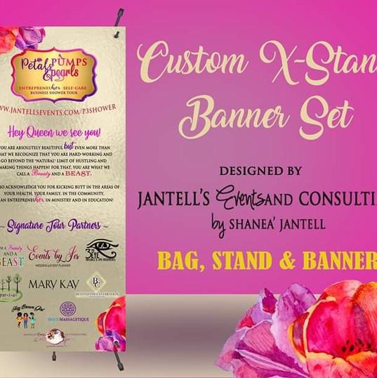 Jantell's Events Custom Banner Designs