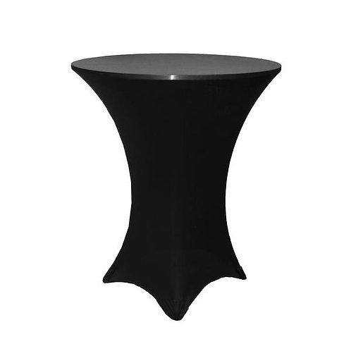 Black Spandex High Tops Linen