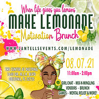 Lemonade brunch by Jantell's Events