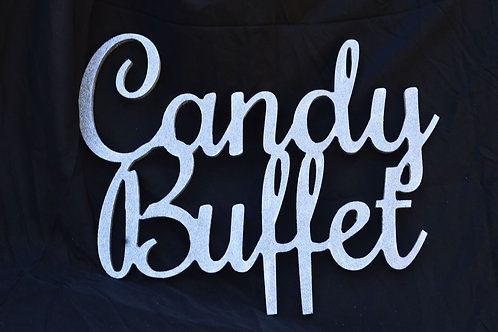 Candy Buffet Signs