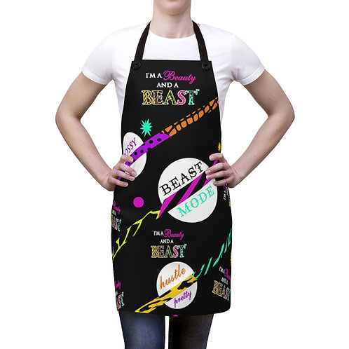 Beauty and Beast Apron