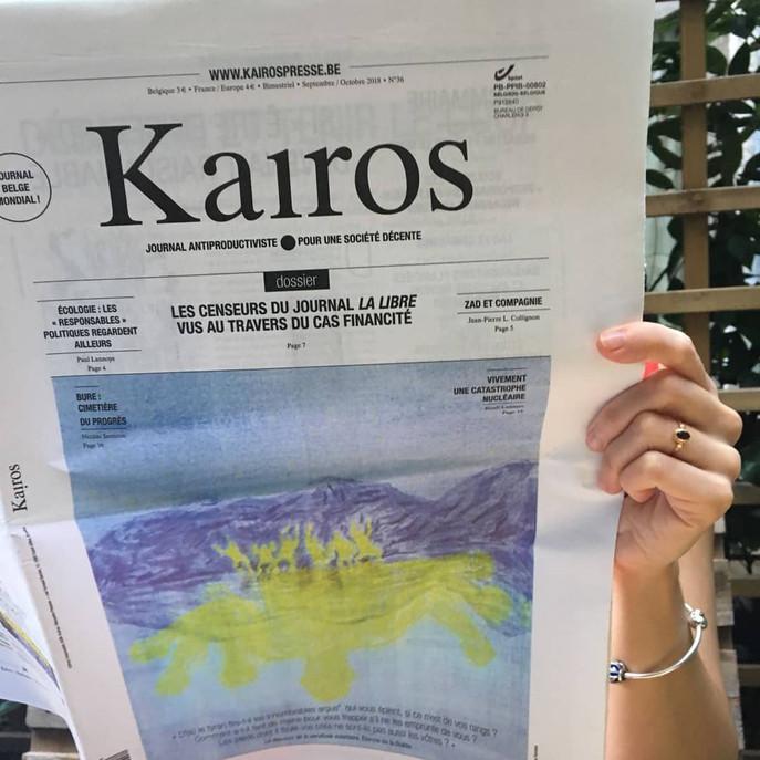 Cover journal Kairos n°36 sept/oct 2018