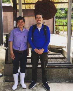 Haruo San of Kumaya Shuzo