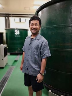 Sakamoto San of Yoshida Shuzo