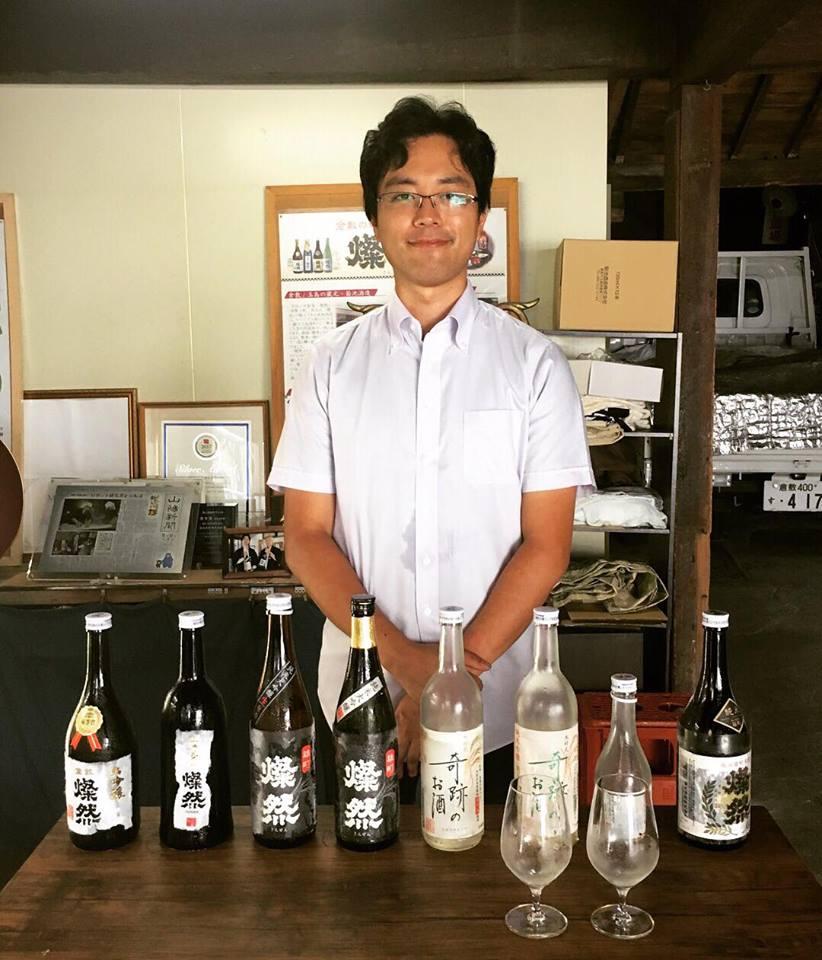 Daisuke San of Kikuchi Shuzo