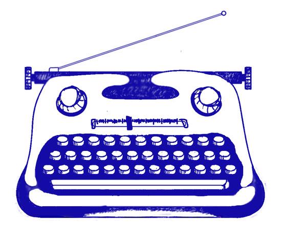 Logo for writer/radio creator