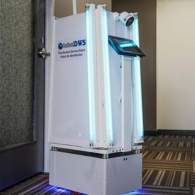 Tech company in Toronto creates COVID-19 disinfection robot