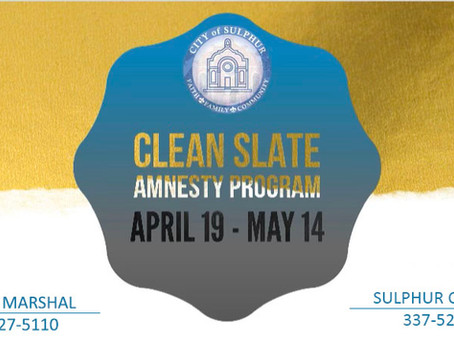CLEAN SLATE Amnesty Program