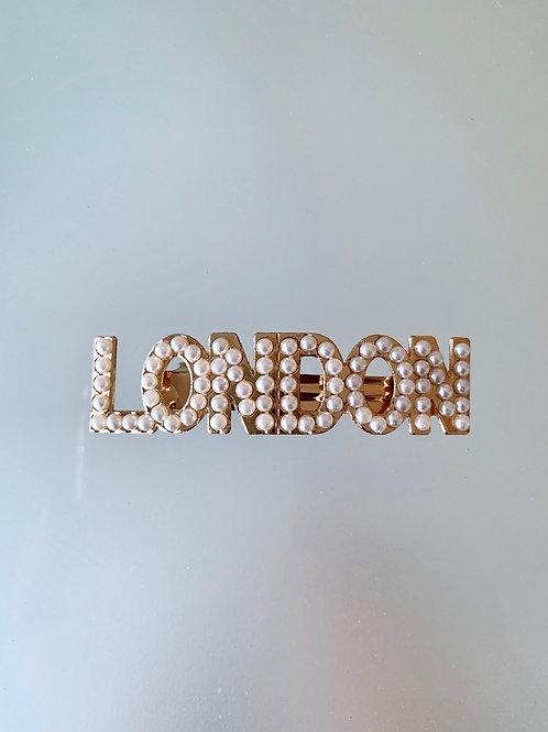 LONDON - Luxe Pearl Barrette