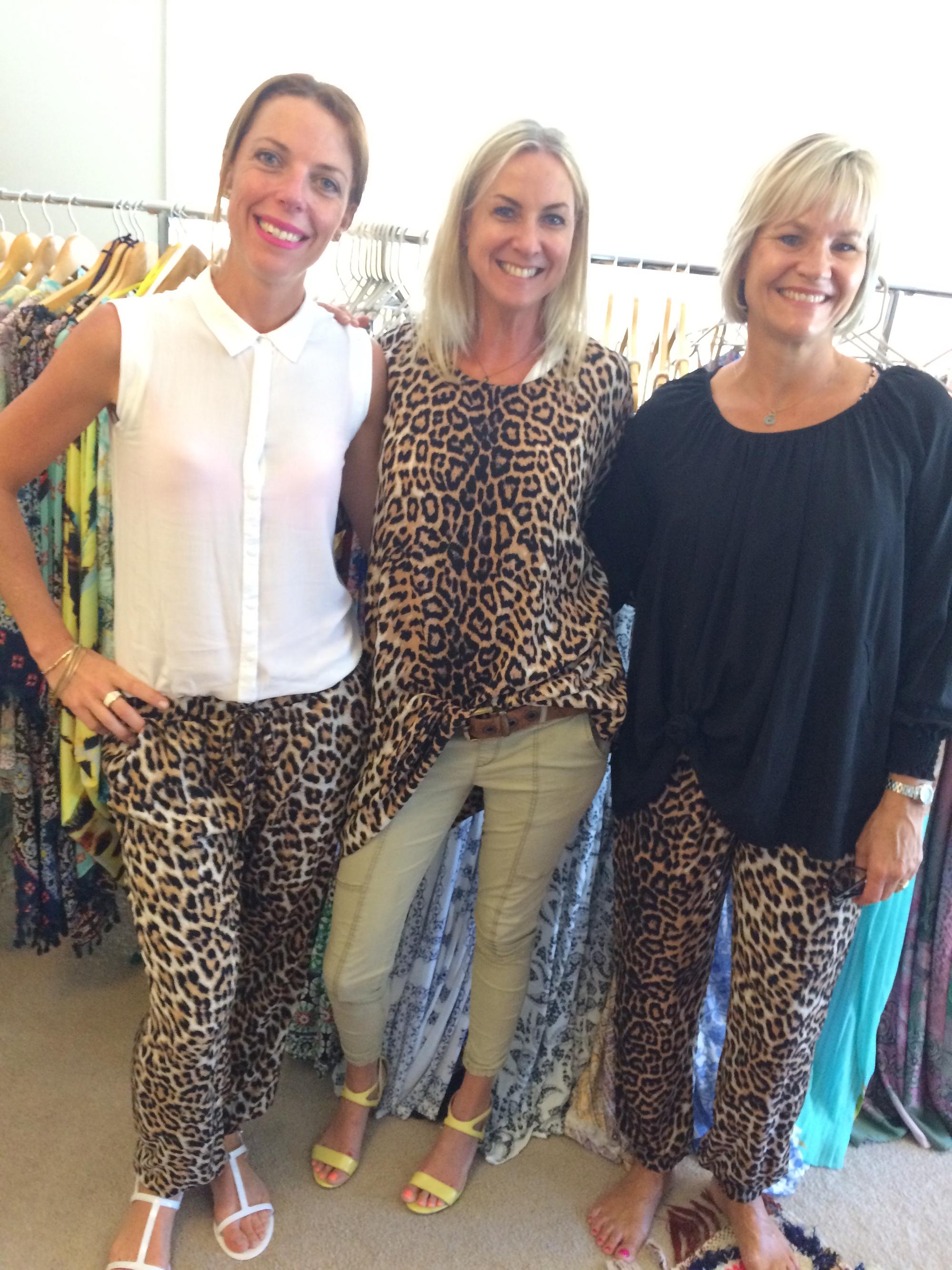 Leopard loving!