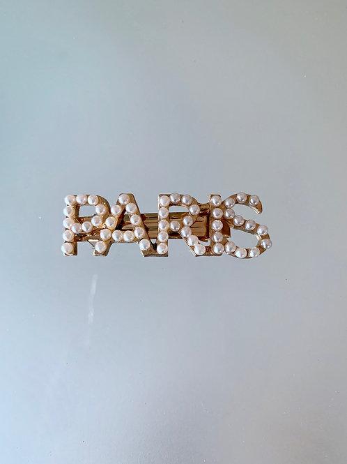 PARIS - Luxe Pearl Barrette