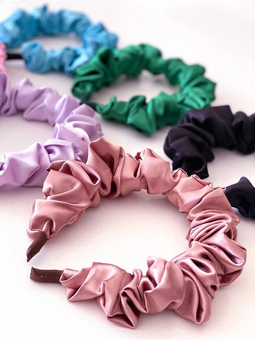 Scrunchie Ruffle Headbands