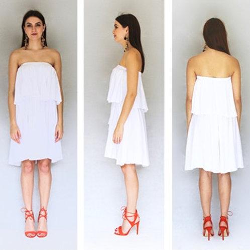 White Layer Cake Dress