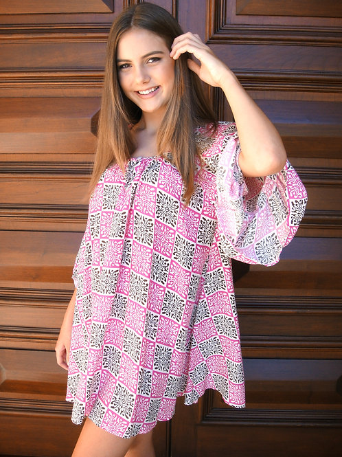 Belle Tunic in Pink