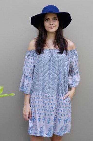 Lilac Boho Dress