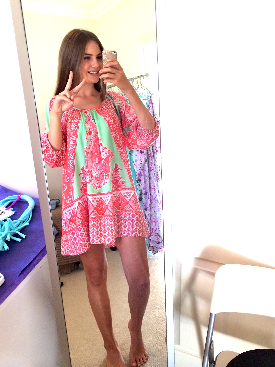 Holly in the Paris Smock