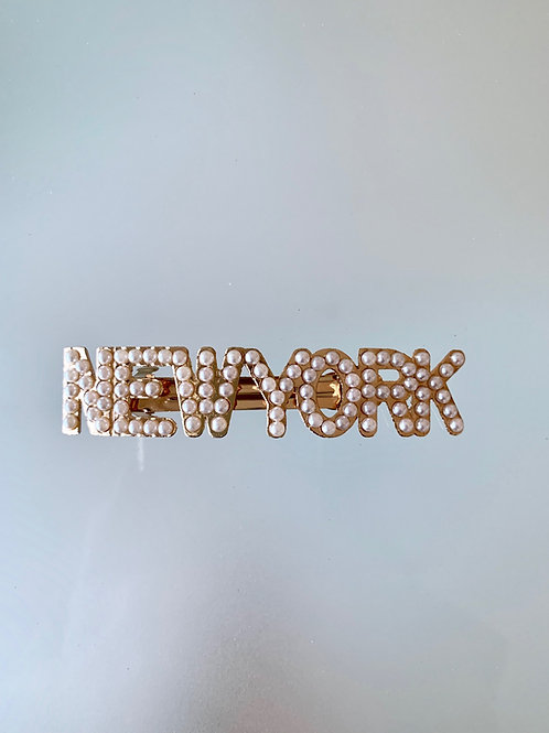 NEW YORK - Luxe Pearl Hair Barrette