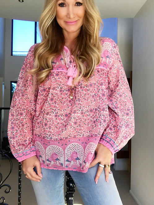 Daisy Chain Blouse - Candy