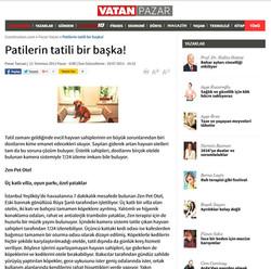 Vatan Gazetesi Sitesinde Zen Pet