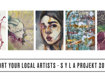 SUPPORT YOUR LOCAL ARTISTS Projekt 2018