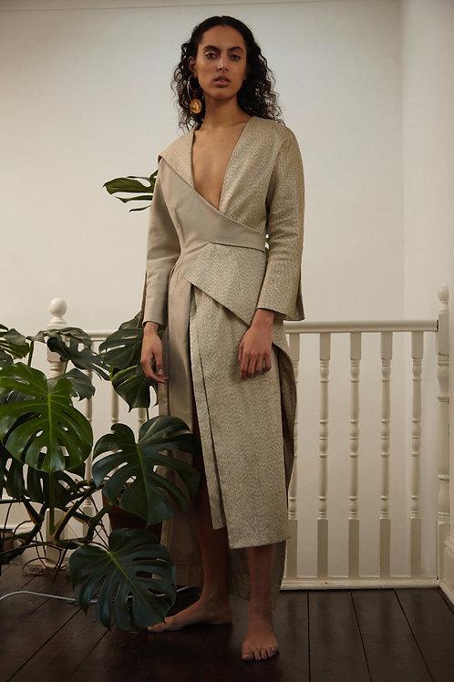 Asymmetric Kebaya Dress