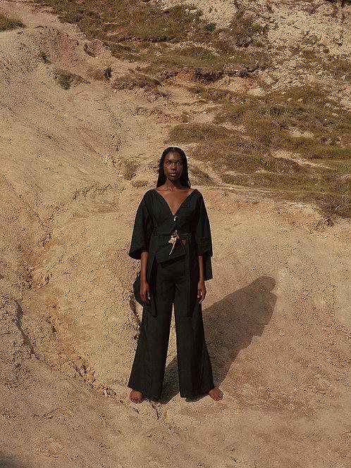 Dewi Asymmetric Robe Blouse