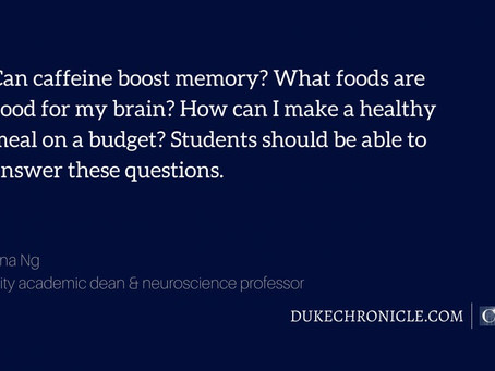 "Dr. Minna Ng on ""Feeding the college student's brain with more than ideas"""