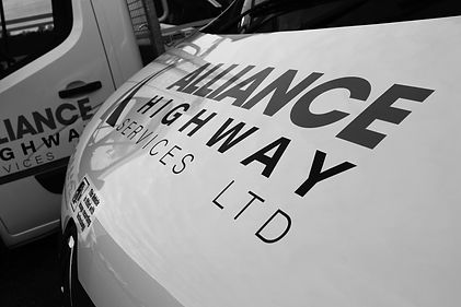 Alliance Highway Services Vehicle