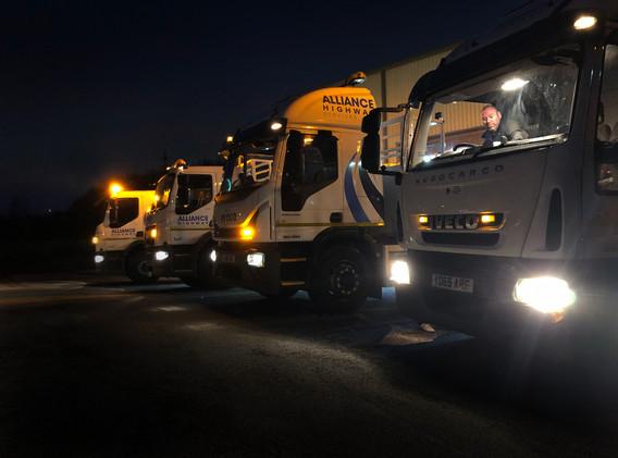 Alliances Vehicles at Depot