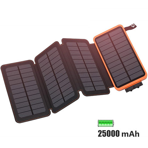 E4 Solar Power Bank 25.000mAh