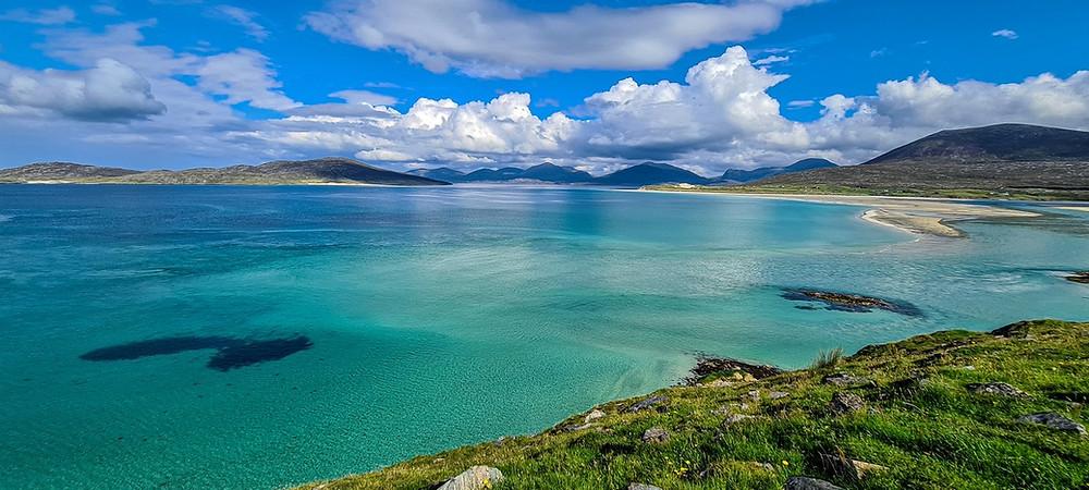 Seilebost beach, Scottich beach, Isle of Harris, visitscotland, thekiltedunicorn.com, visite écosse, voyage écosse