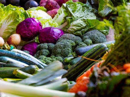 Gemüse-Lieferung