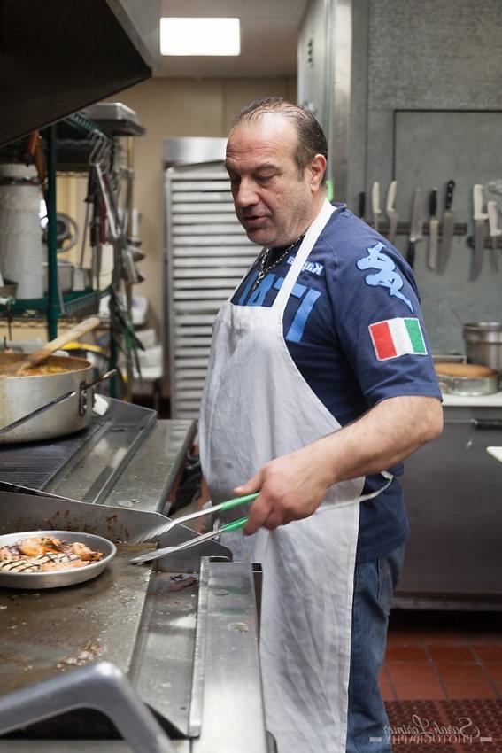 Chef Giovanni Scorzo
