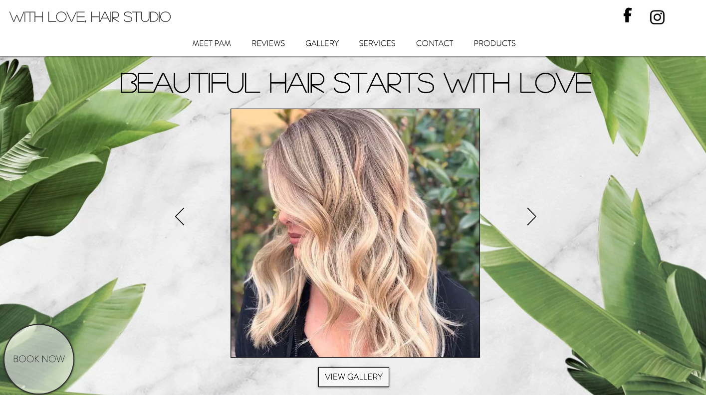 With Love, Hair Studio
