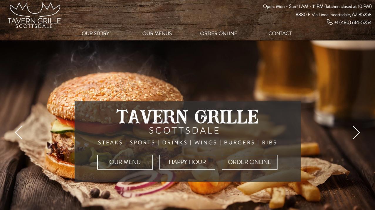 Tavern Grille Scottsdale
