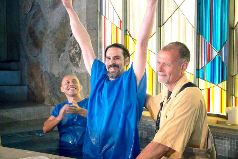 Getting baptized