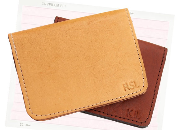 His & Hers initialed Cardholders