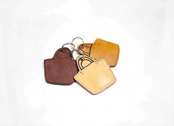 Mini Tote Keychain