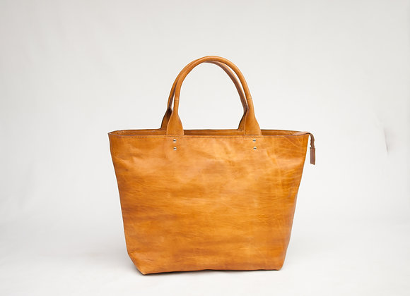 Ambergris Tote in Ginger