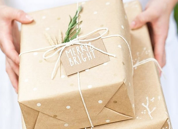 Eco-Friendly Giftwrapping